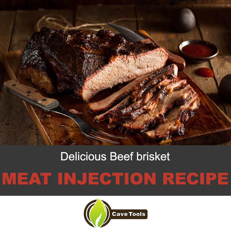 Delicious beef brisket meat injection recipe