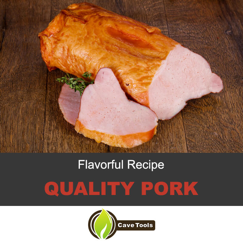 Flavorful smoked pork