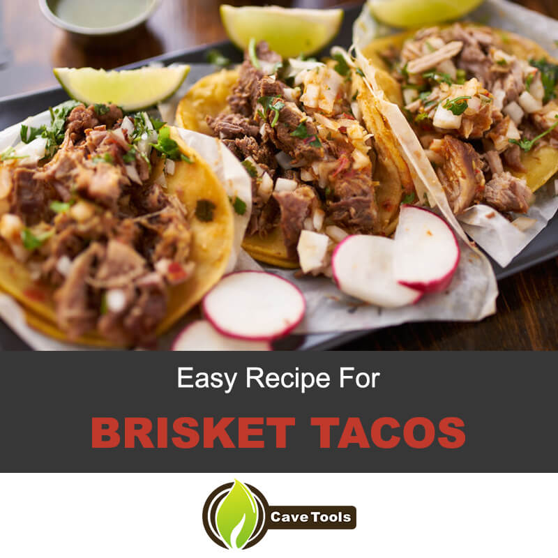 Easy recipe for brisket tacos