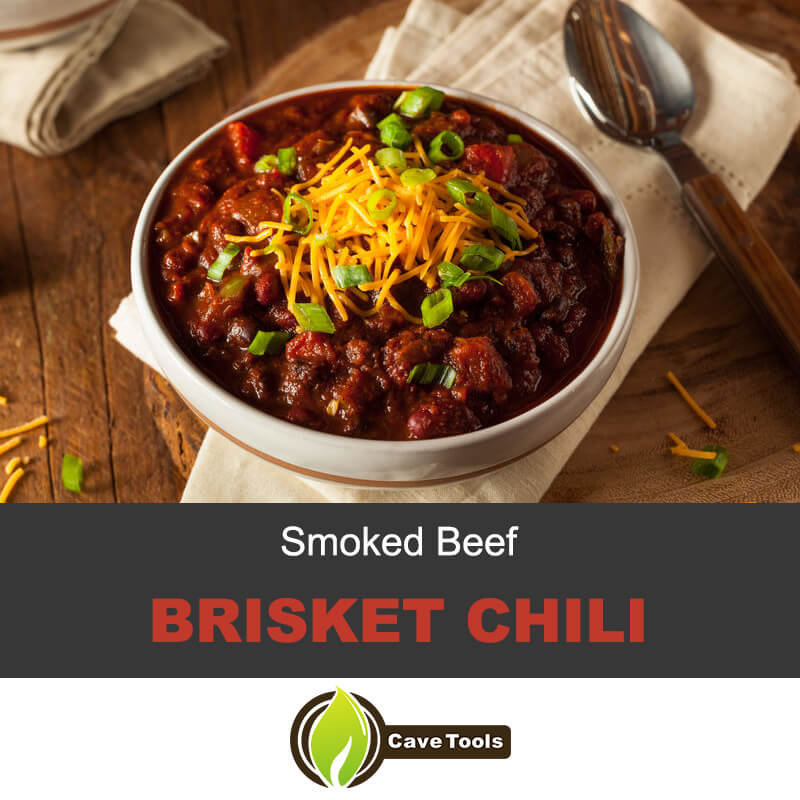 Smoked beef brisket chili