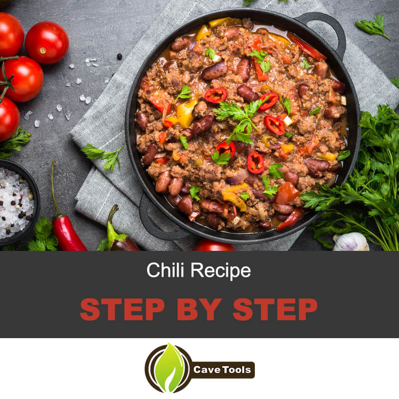 Step by step chili recipe