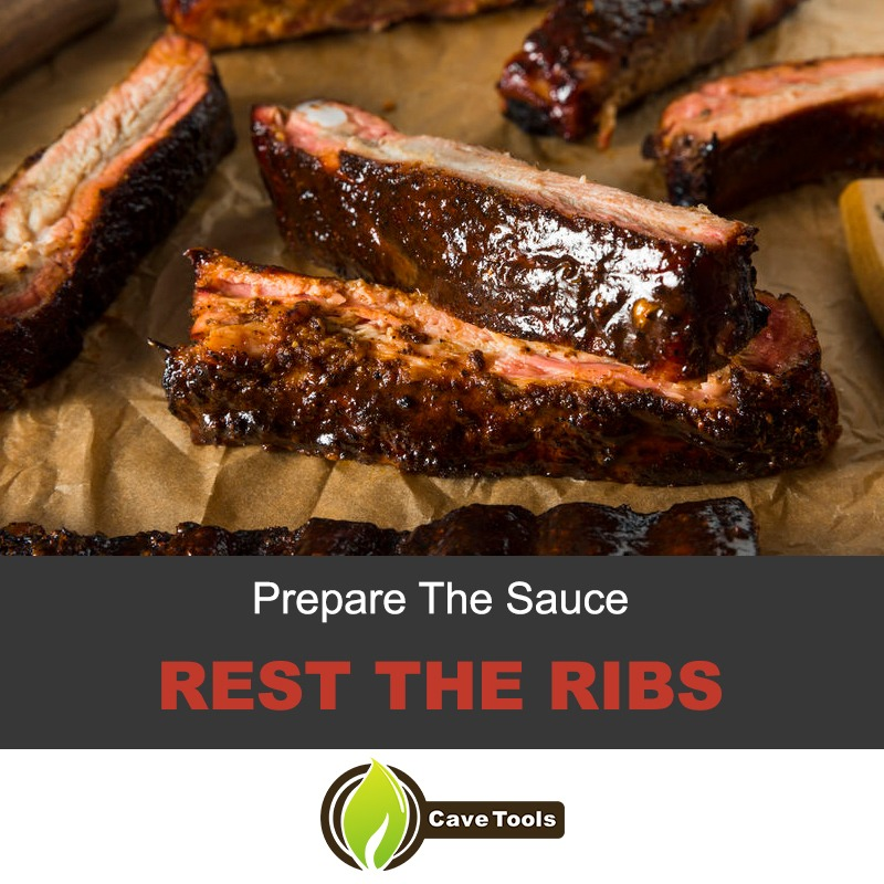 Rest the ribs