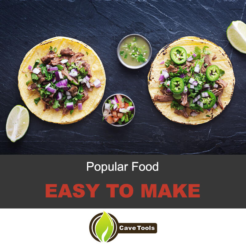 Popular and easy to make tacos