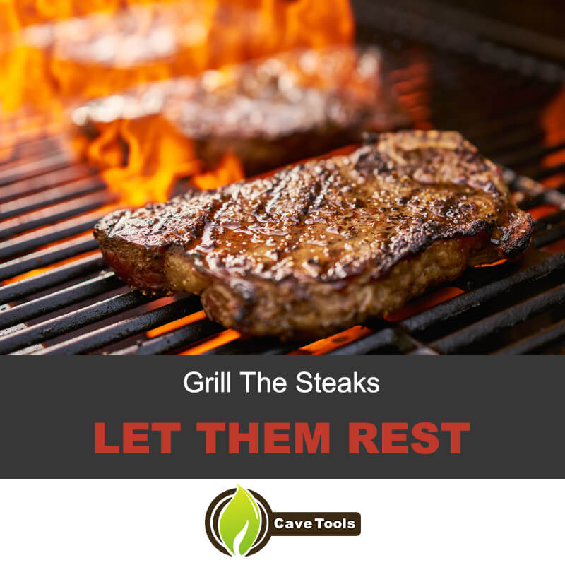 Grill The Steak