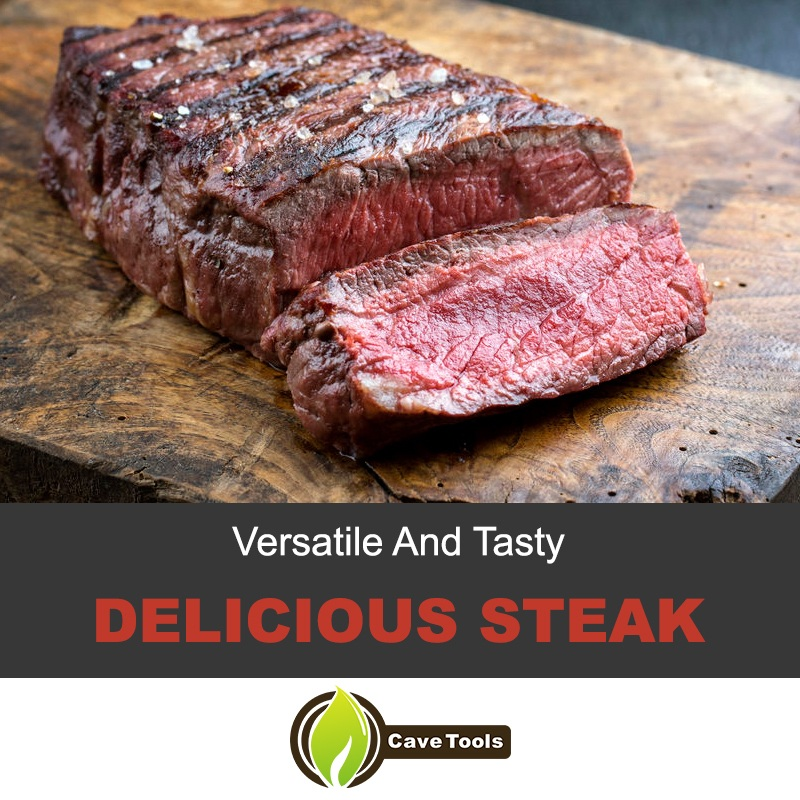 Delicious top sirloin steak