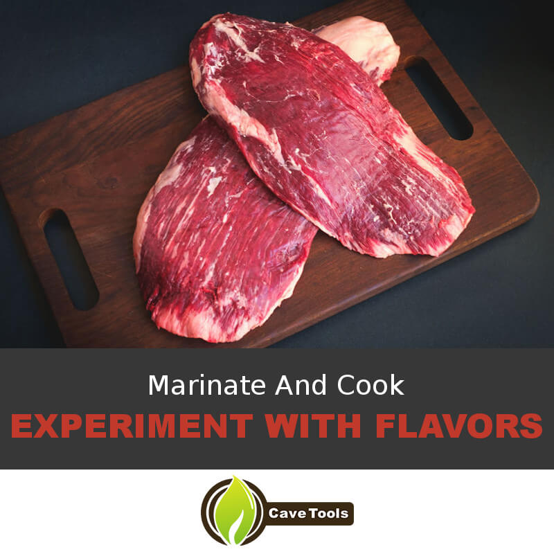 Marinate And Cook Experiment With Flavors