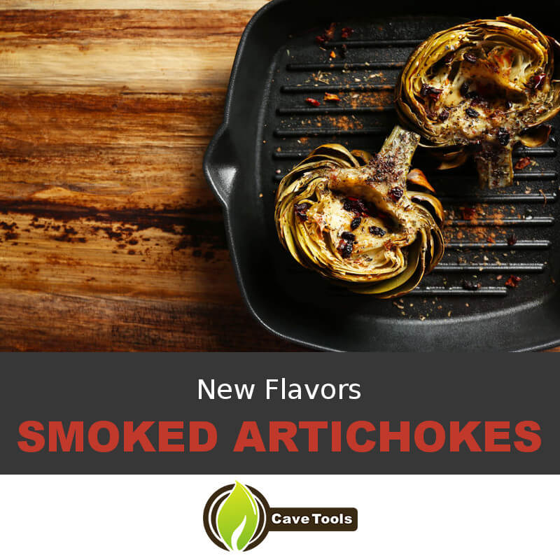 New Flavors Smoked Artichokes