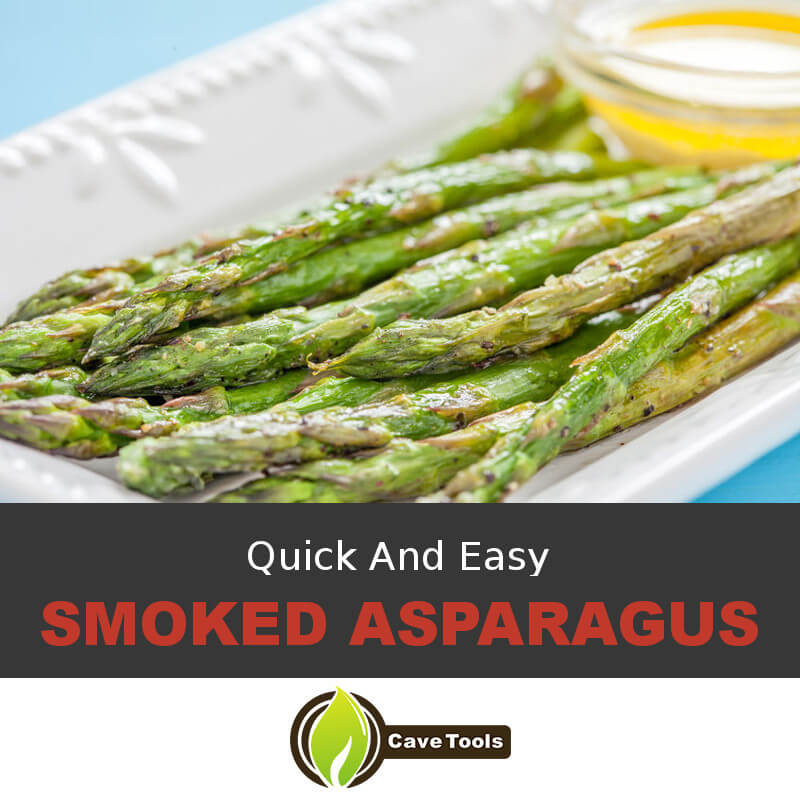 Quick And Easy Smoked Asparagus