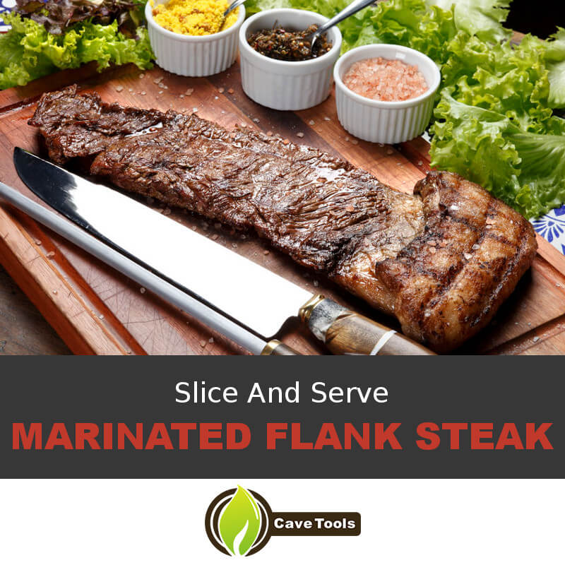 Slice And Serve Marinated Flank Steak