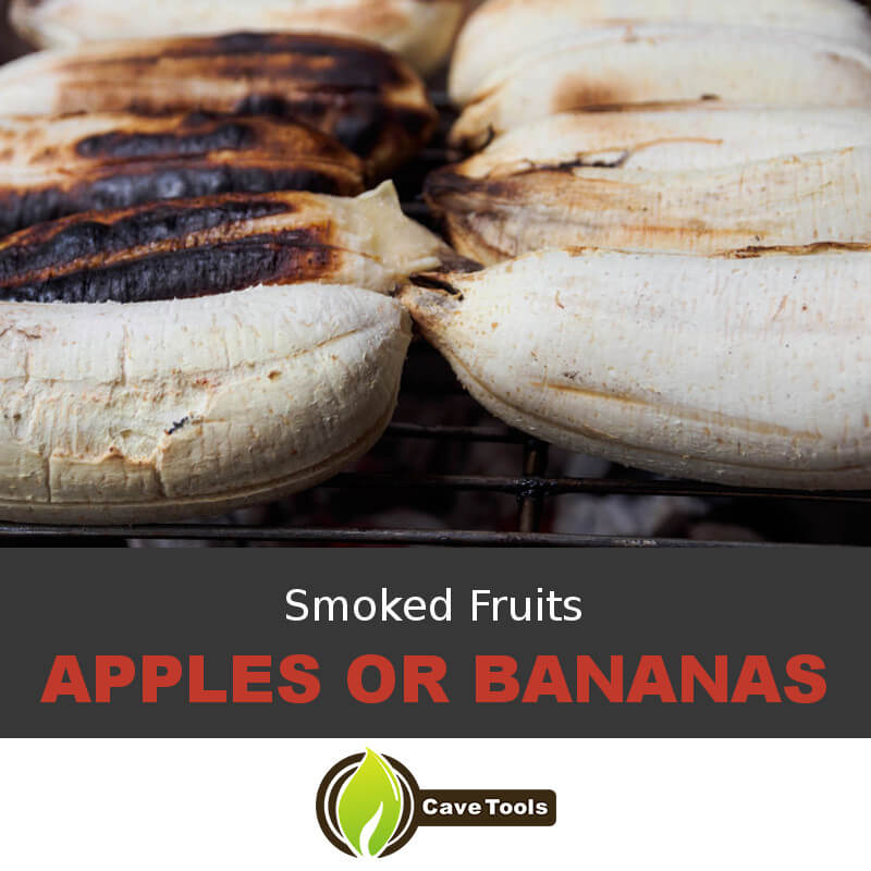Smoked Fruits Apples Or Bananas