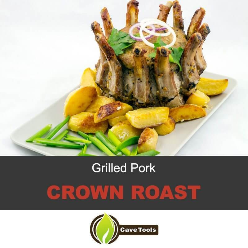Pork Crown Roast on the Grill