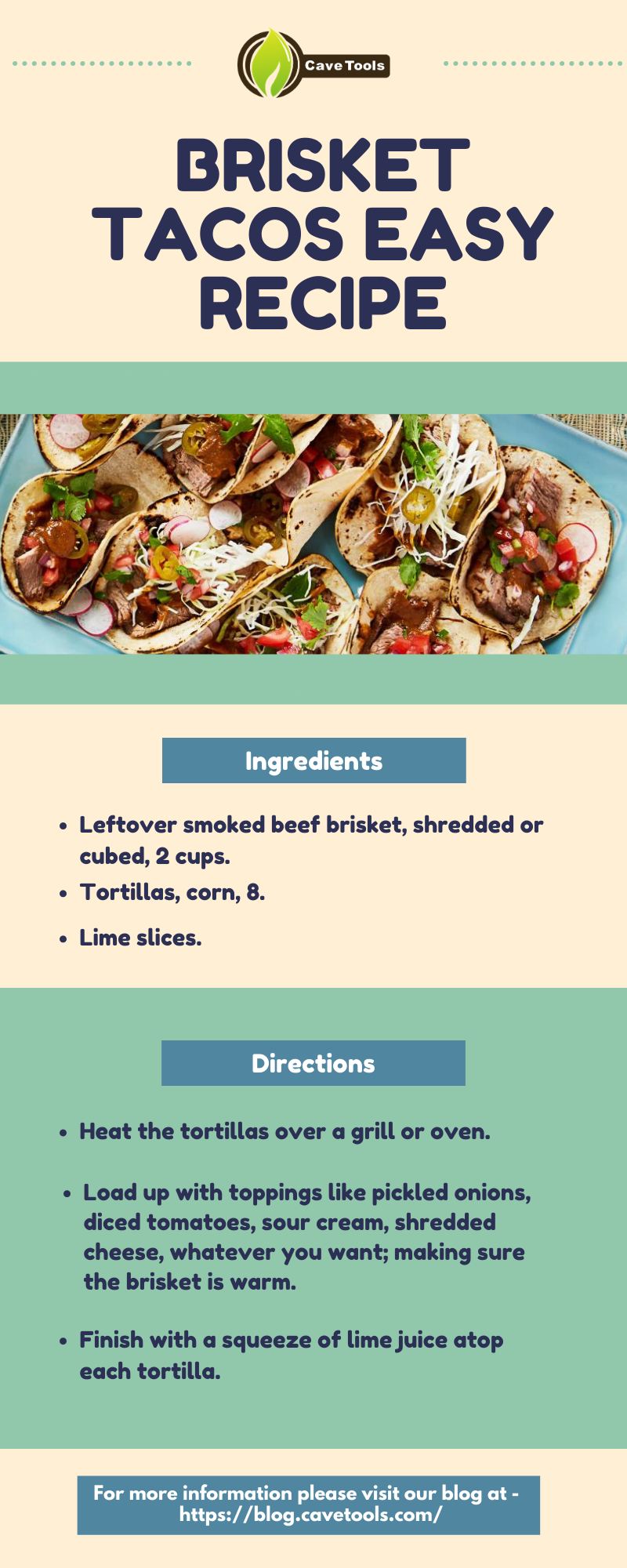 Brisket Tacos Easy Recipe