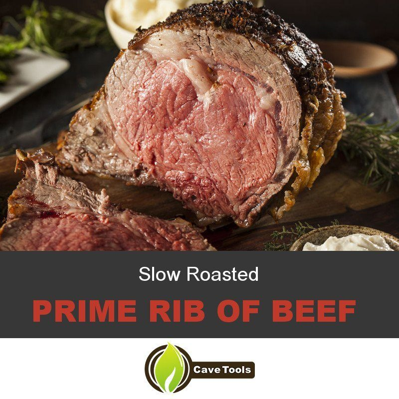 Slow Roasted Prime Rib of Beef
