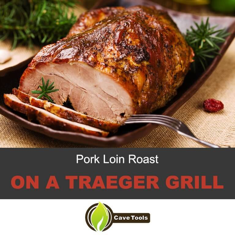 Pork Loin Roast On a Traeger Grill
