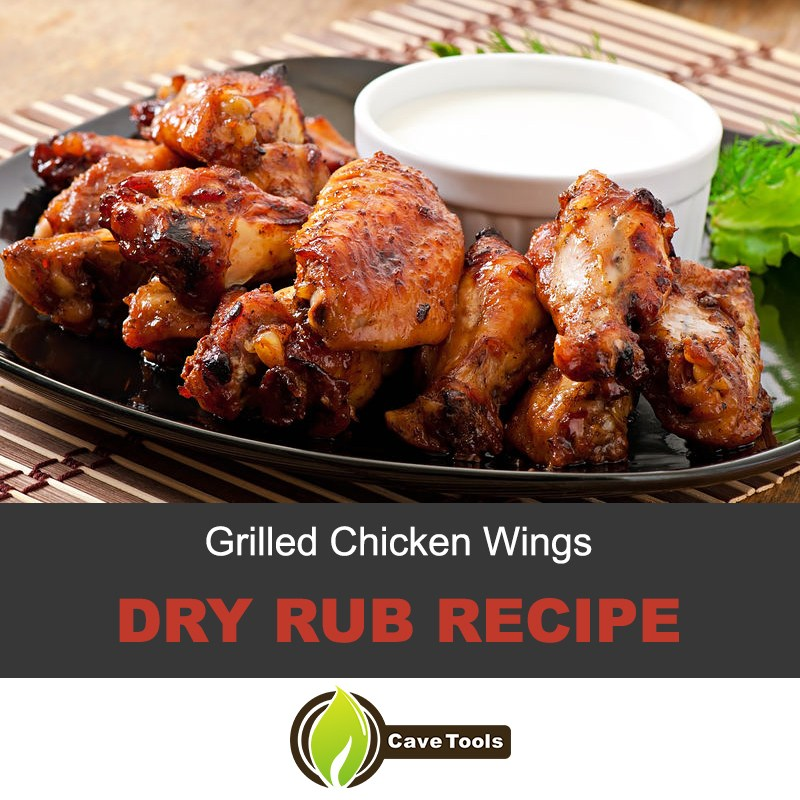 Dry rub for grilled chicken wings