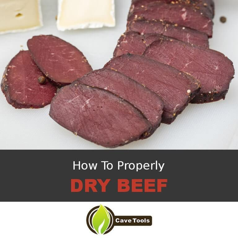 Making Dried Beef