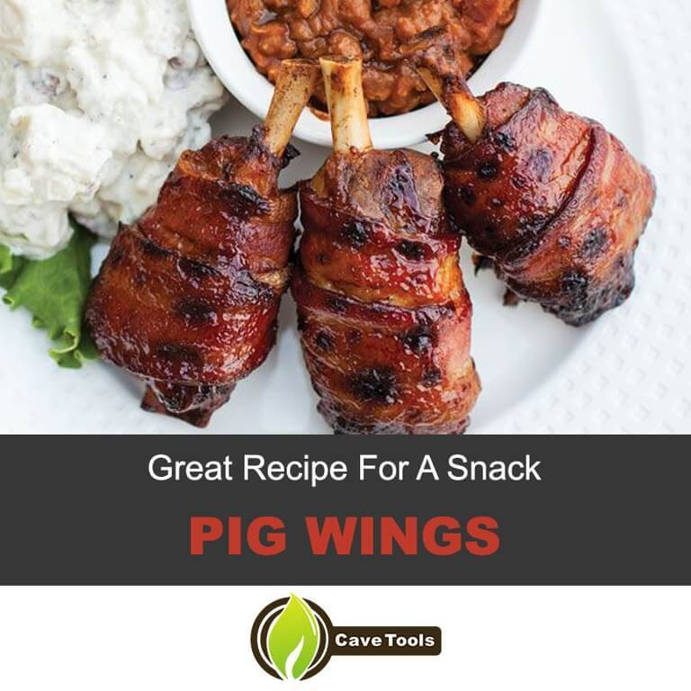 Recipe for a Snack – Pig Wings