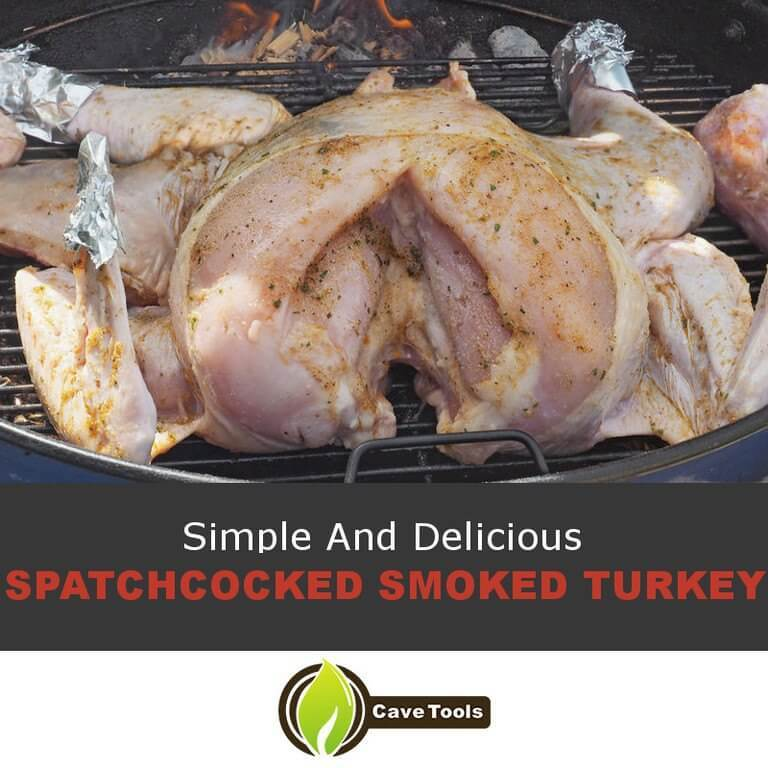 Spatchcocked Smoked Turkey
