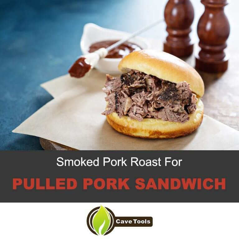 Smoked Pork Roast for Pulled Pork Sandwich