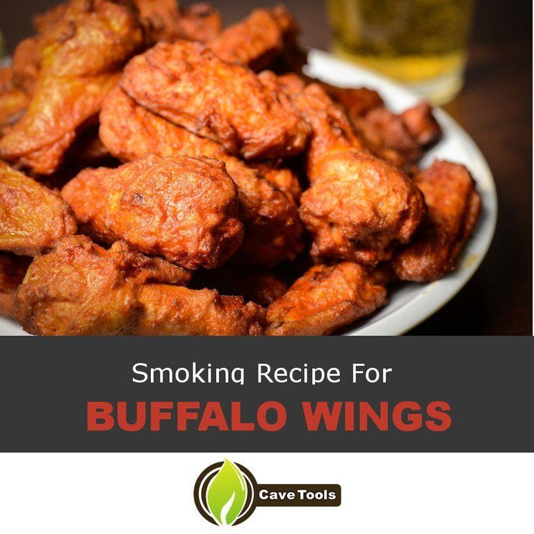 Smoking Buffalo Wings