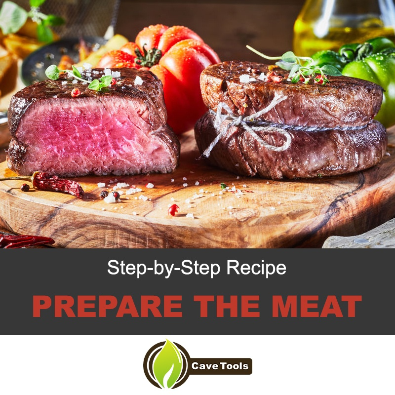 Prepare the meat